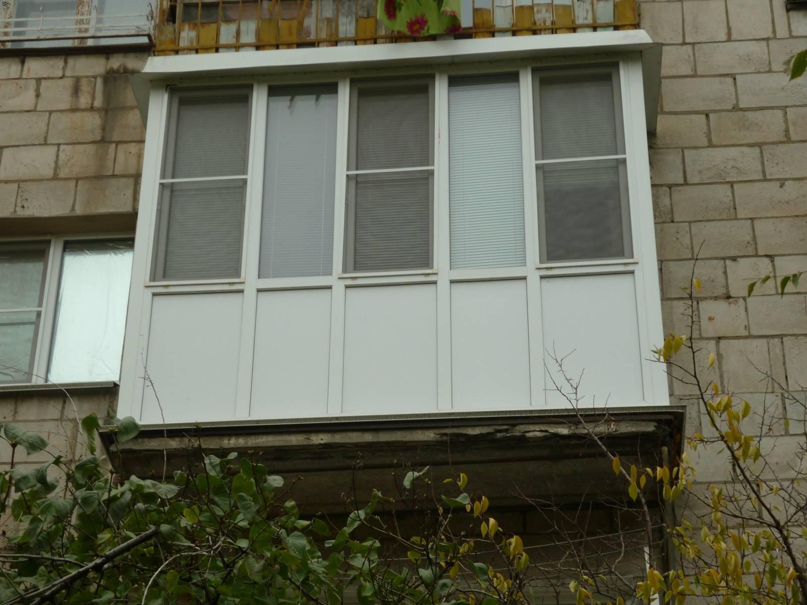 Французский балкон - цена от 6900 гривен в запорожье от комп.